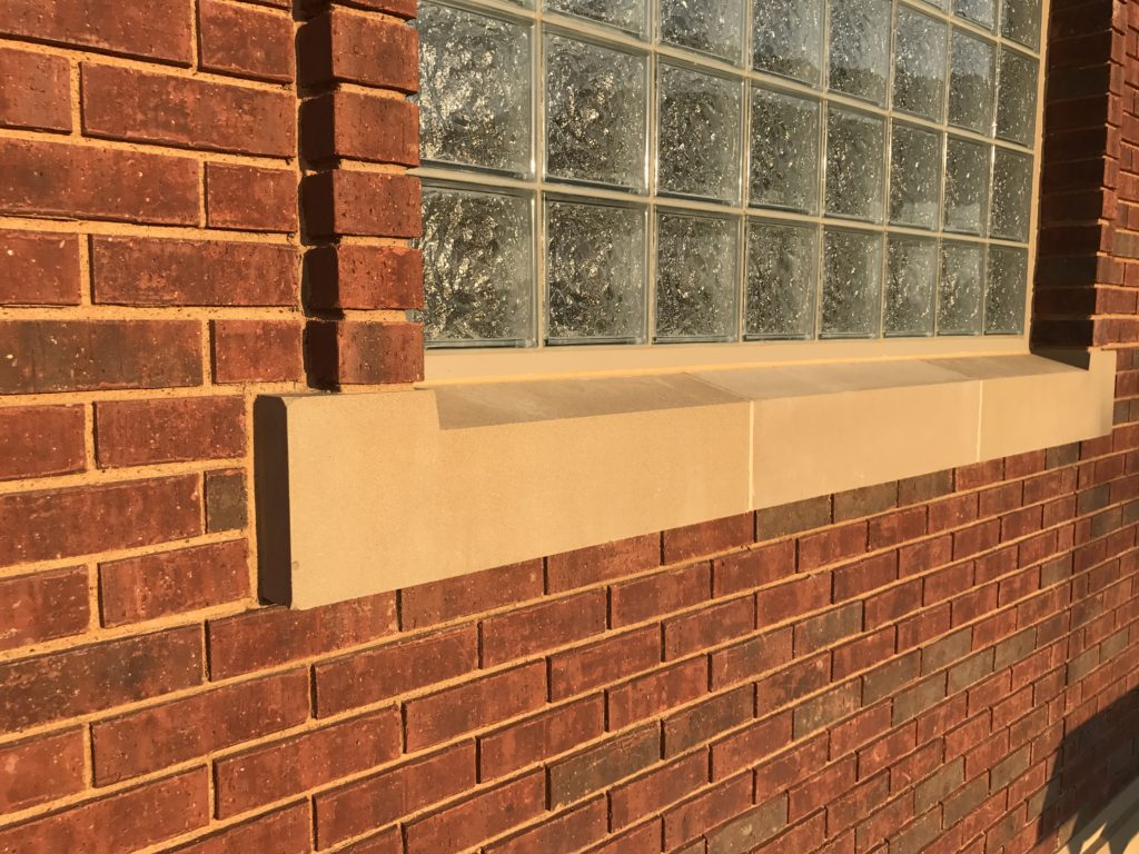 Southlake Concession Building - Cast Stone Window Sill