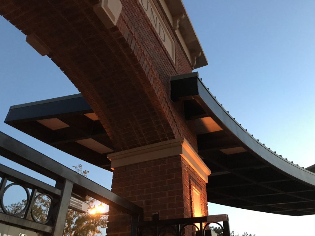 Southlake Shade Structure - Entry