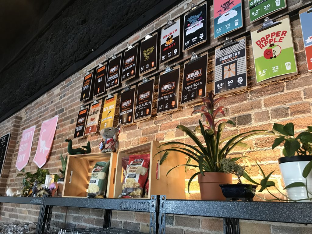 Armadillo Ale Works - Bar Back