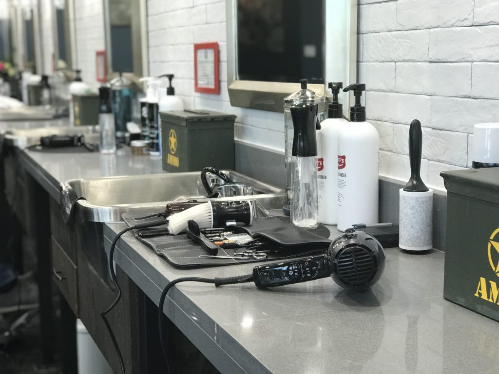 Griffs Ace Gooming and Shave Bar - Counter